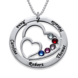 Forever in My Heart Personalized Necklace