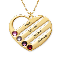 My Heart is Yours Necklace in Gold Plating