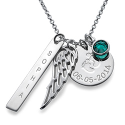 My Baby's an Angel Necklace