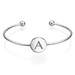 Forever Initial Bangle