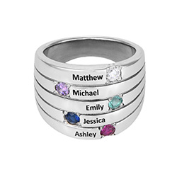 Happy Family Mother Ring